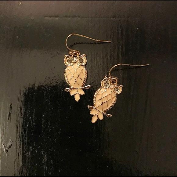 LC Lauren Conrad Jewelry - Lauren Conrad, owl earrings!